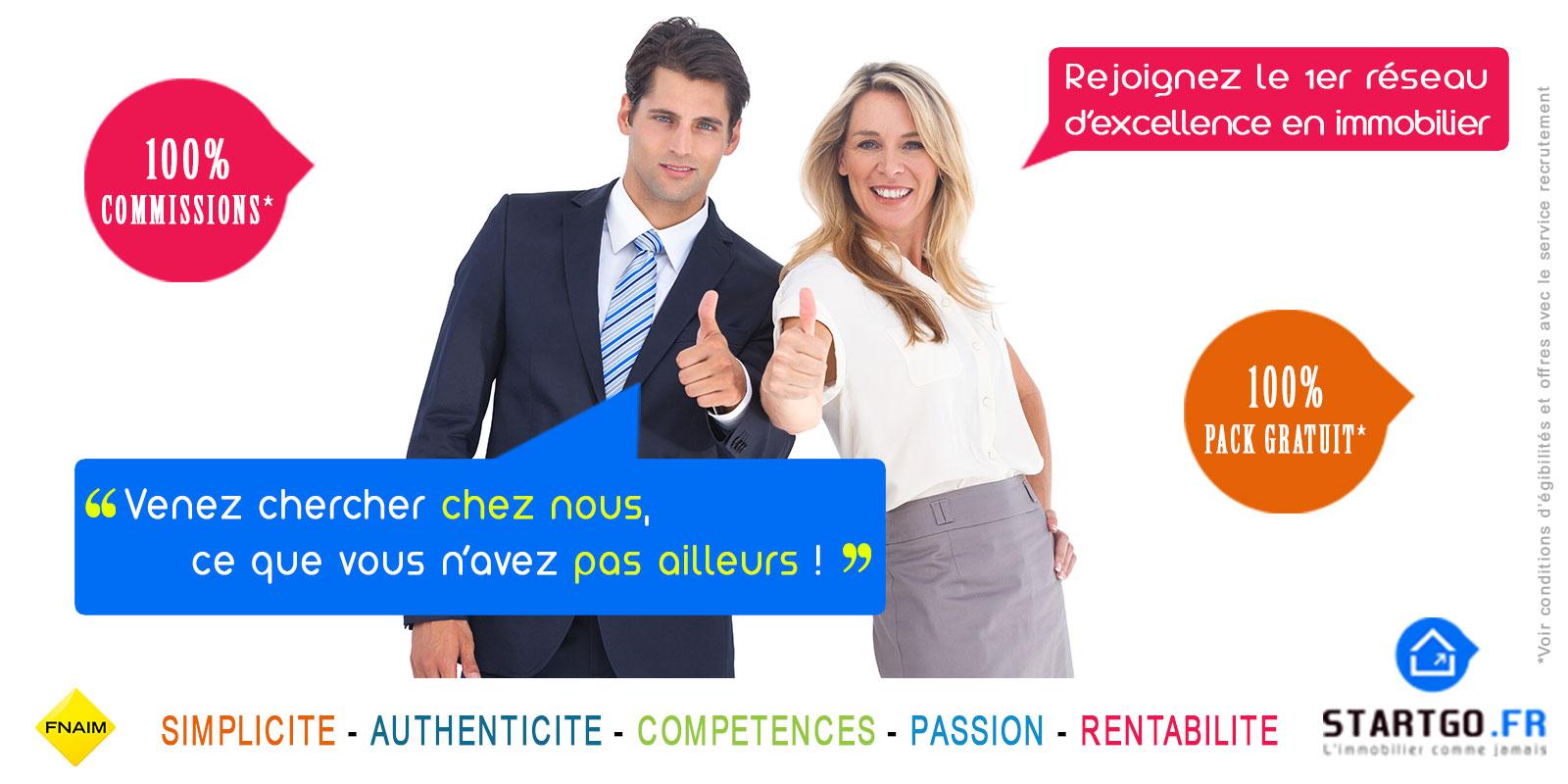 Rejoignez L'excellence et faites carrière dans L'immobilier recrute H/F